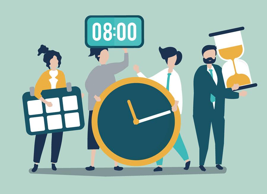 مدیریت زمان | ۱۰ اشتباه رایج در مدیریت زمان